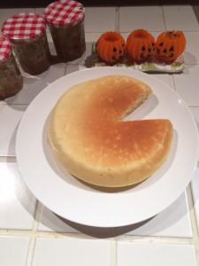 ジンジャーホットケーキ2