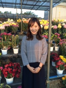菊記念写真