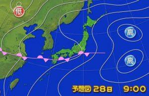 天気図0627
